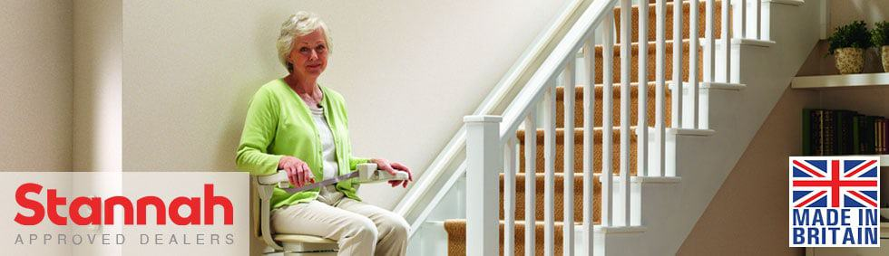 Stannah Stairlifts Lancashire UK