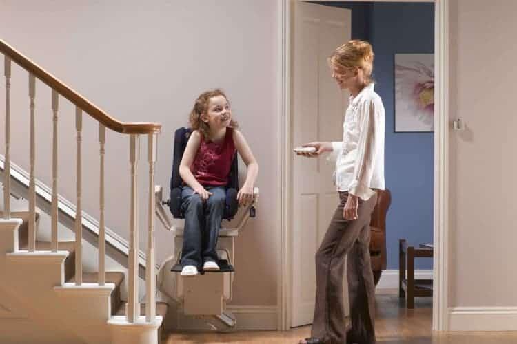 Children's stairlift Stannah